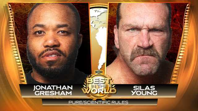 Roh Best In The World 2020.Silas Young Is Set To Face Jonathan Gresham In A Pure Rules