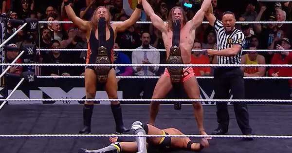 The BroserWeights Defeat The Undisputed ERA At TAKEOVER: PORTLAND To Win  The NXT Tag-Team Titles
