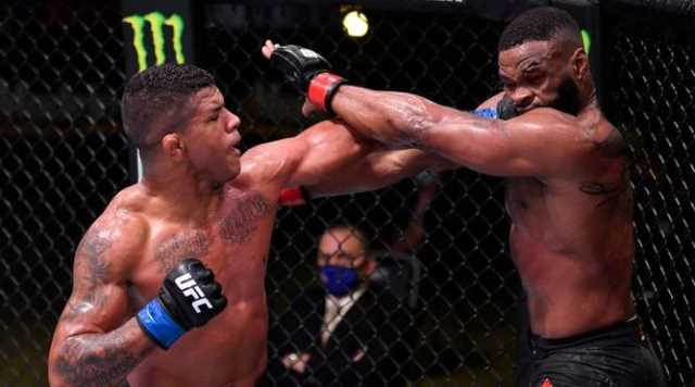 UFC: Gilbert Burns dominates Tyron Woodley in unanimous-decision win