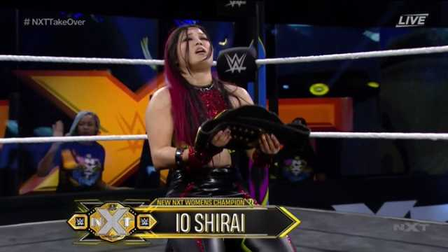 Io Shirai Wins The NXT Women's Championship At TAKEOVER: IN YOUR HOUSE