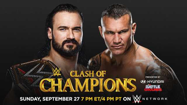 Two Matches Changed For Tonight's Clash Of Champions PPV