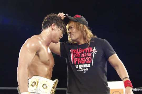 Tetsuya Naito Challenges Kota Ibushi For The IWGP Intercontinental And Heavyweight Title At WRESTLE KINGDOM 15