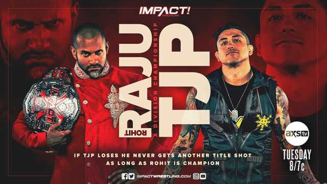 Tonight's Episode Of IMPACT WRESTLING Features A X-Division Championship Match