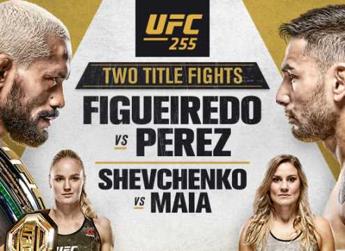 Two UFC Flyweight Title Fights Will Be Featured On Tonight's UFC 255 Pay-Per-View