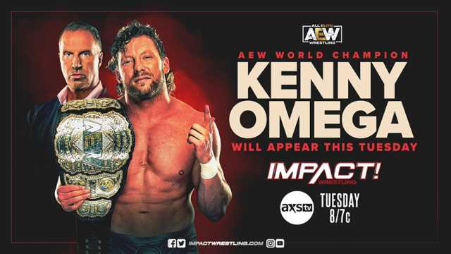 IMPACT WRESTLING Finally Confirms The Appearance Of AEW World Champion Kenny Omega