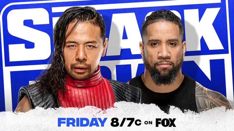 Shinsuke Nakamura And Jey Uso Will Collide This Friday On WWE SMACKDOWN