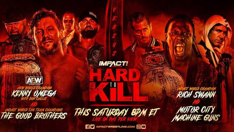AEW World Champion Kenny Omega Will Make His IMPACT WRESTLING In-Ring Debut At Tonight's HARD TO KILL