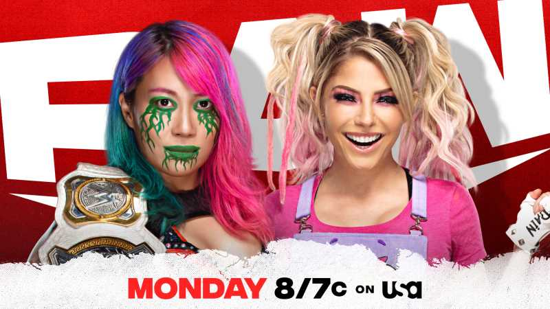 WWE MONDAY NIGHT RAW Highlights For January 18, 2021: Asuka VS Alexa Bliss And More
