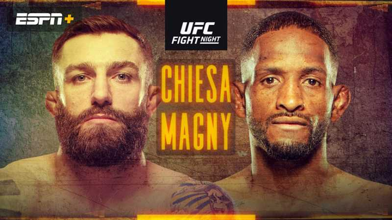 Michael Chiesa And Neil Magny Will Headline Tonight's UFC FIGHT ISLAND 8