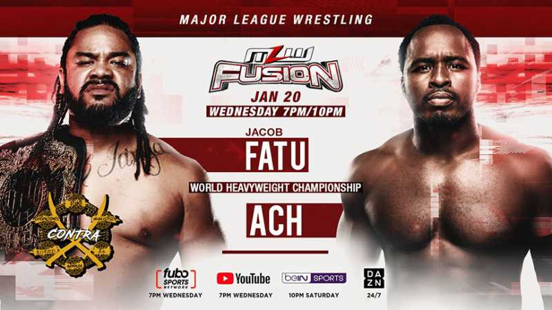 Jacob Fatu Will Defend The MLW World Heavyweight Championship On Tonight's FUSION Episode