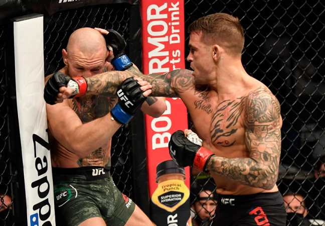 Dustin Poirier Pulls Off A Stunning Knockout Against Conor McGregor At UFC 257
