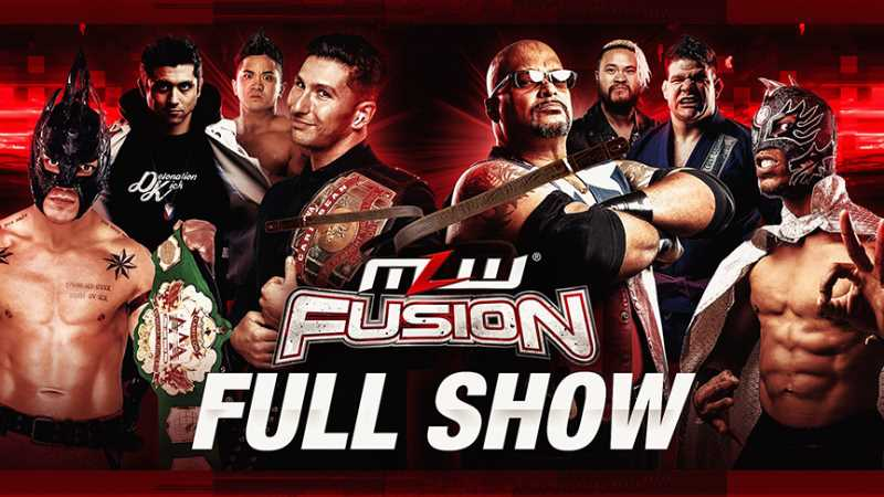 Two Interpromotional Championship Matches Will Be Featured On Tonight's MLW FUSION