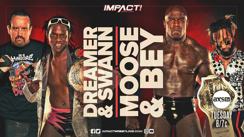 IMPACT World Champion Rich Swann, Moose, And TJP Will Be In Action On Tonight's Episode