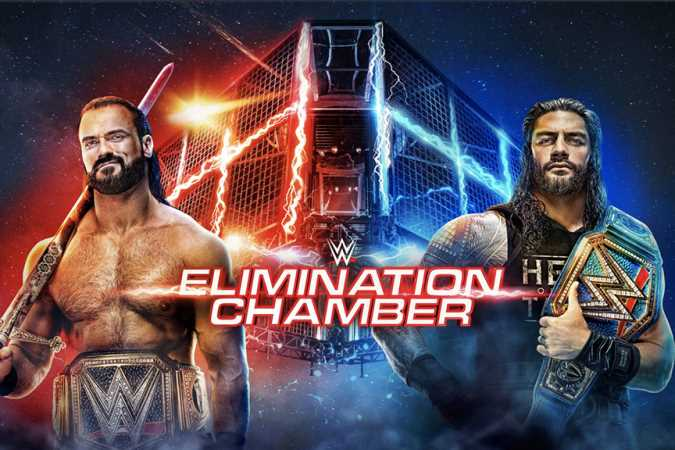 The WWE And Universal Championships Will Be Defended On Tonight's ELIMINATION CHAMBER Pay-Per-View