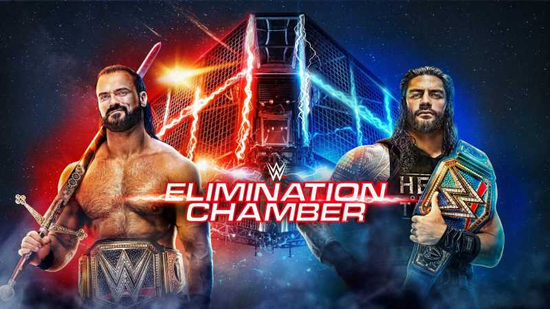 WWE ELIMINATION CHAMBER 2021 Pay-Per-View Full Match Results And Highlights