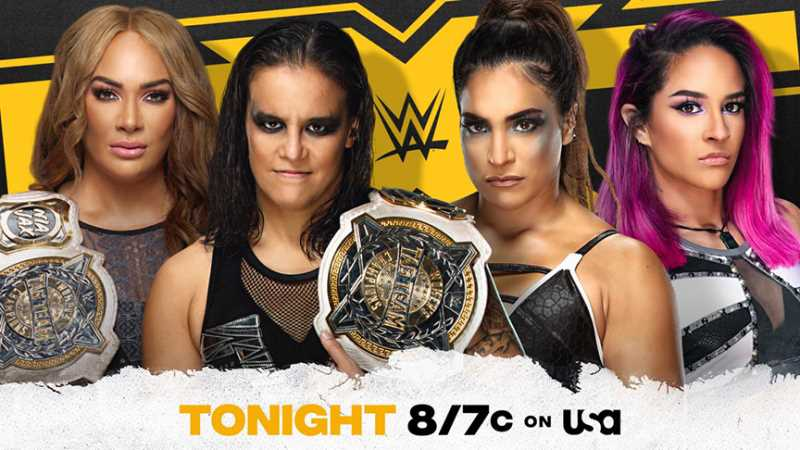 Nia Jax & Shayna Baszler Will Defend The WWE Women's Tag Team Titles On Tonight's NXT