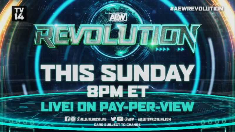 AEW REVOLUTION 2021 Preview: Full Lineup Of Matches Advertised For Tomorrow's PPV Event