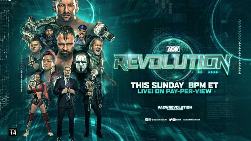 AEW REVOLUTION 2021 Pay-Per-View Full Match Results And Highlights