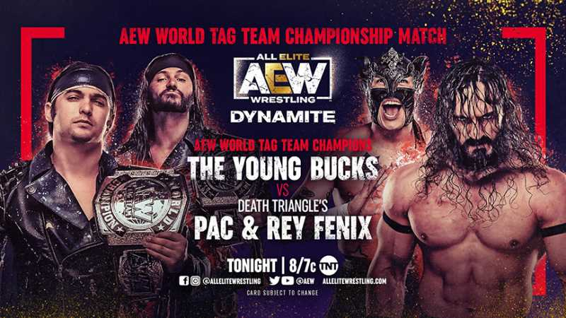 Two Championship Matches Are Set To Headline Tonight's Episode Of AEW DYNAMITE