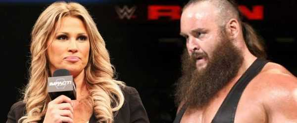 Former Tna Personality Karen Jarrett Posts A Throwback Photo Of Her And Braun Strowman At The Hall Of Fame As noted, former impact wrestling executive jeff jarrett is currently in a rehab facility, following an incident at an jeff's wife karen has since posted the following photo of jeff at the facility. former tna personality karen jarrett