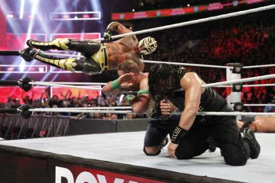 Rey mysterio reveals that he was confused by the reaction - Wwe 619 images ...