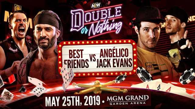 Best Friends vs  Angelico And Jack Evans Has Been Confirmed